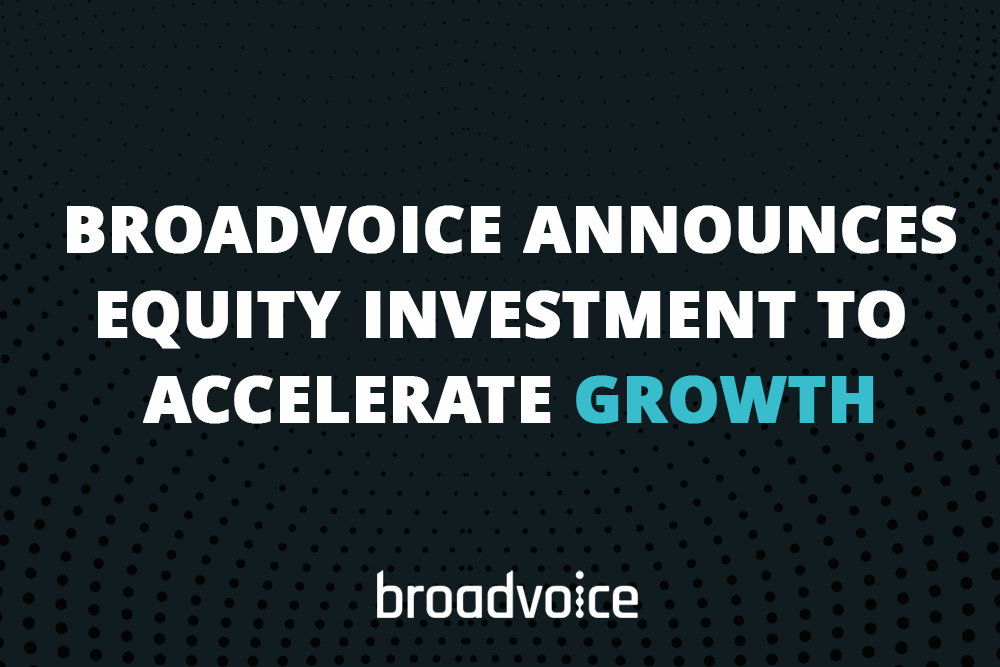 broadvoice announce equity investment